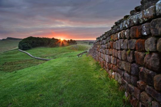 HW266B HOUSESTEADS ROMAN FORT HADRIAN'S WALL