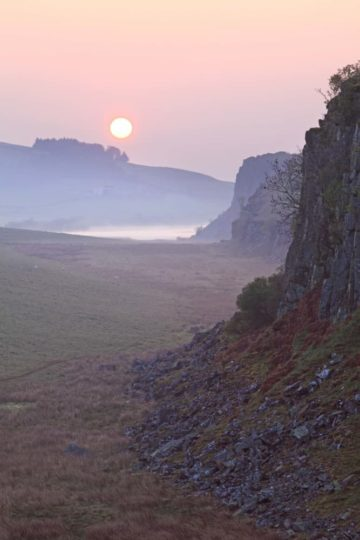HW453F CRAG LOUGH HADRIAN'S WALL