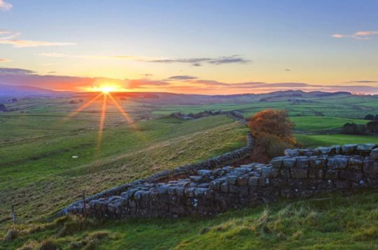 HW727.1 CAWFIELDS CRAGS HADRIAN'S WALL