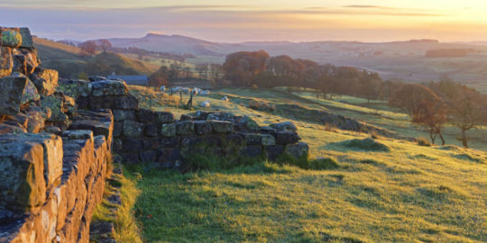 HW913.3 TURRET, WALLTOWN CRAGS, HADRIAN'S WALL, NORTHUMBERLAND