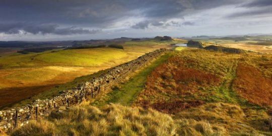 HW663 WHINSHIELD CRAGS HADRIAN'S WALL